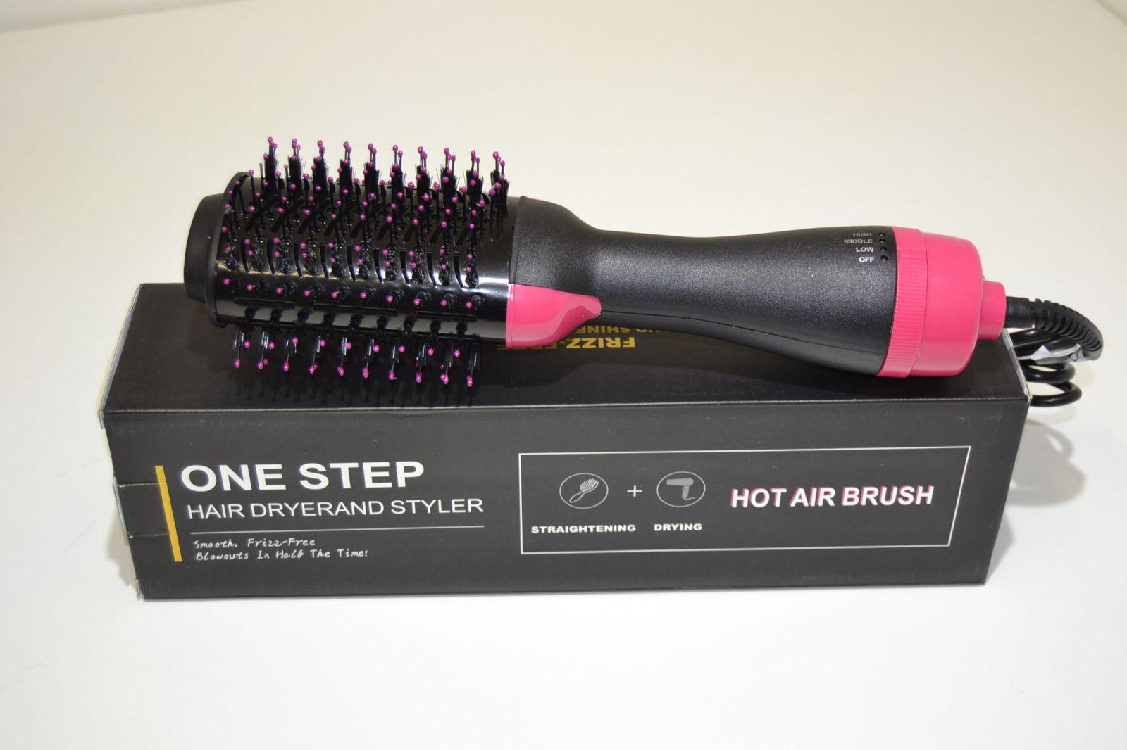 2v1: Fén na vlasy & volumizér Styloom, one step
