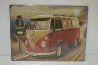 Plechová reklamní cedule 30 x 40 cm, volkswagen 3