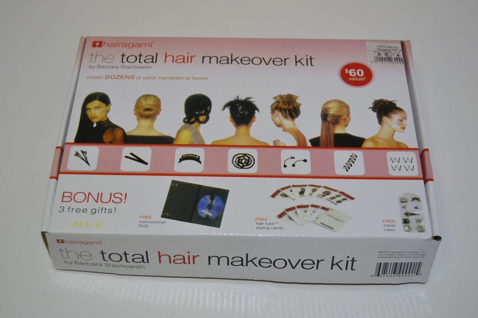 ÚČESOVÁ SADA + DVD TOTAL HAIR HAIRAGAMI - STYLING