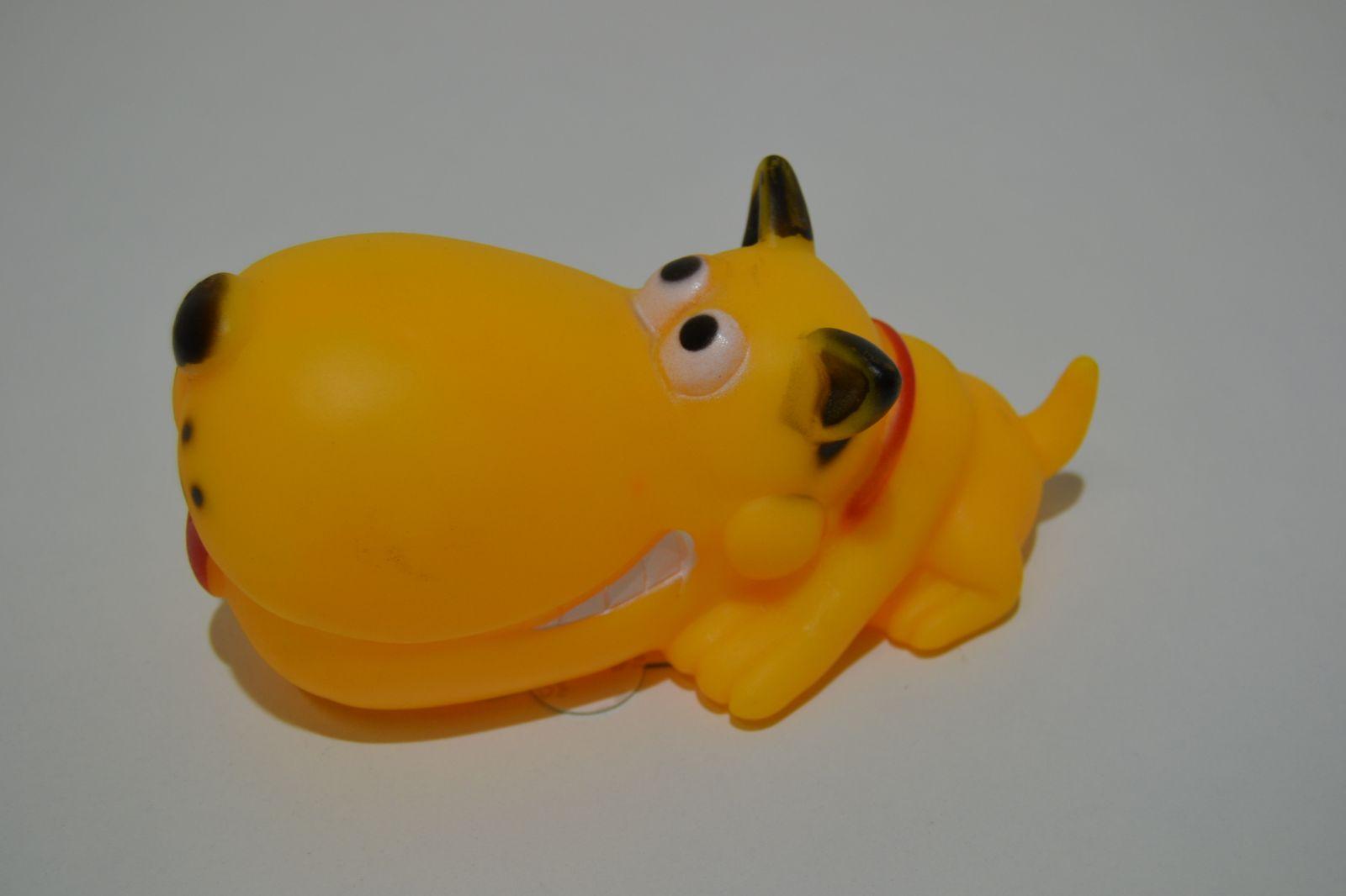 Hračka pro psy - vinilový pes Spike 15 cm