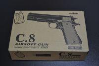 Kovová kuličkovka C 8, kuličková pistole, BB air sport gun