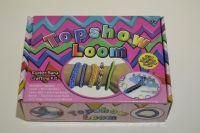 Loom bands topshow - pletací stav + gumičky