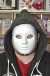 Plastová maska na obličej - ghost