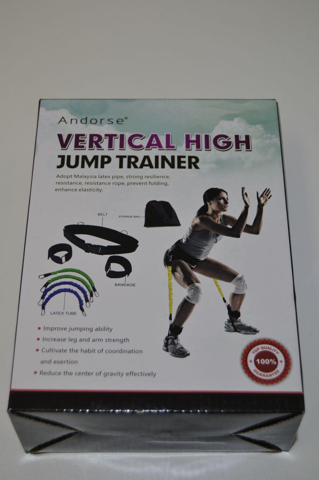 Posilovací gumy na nohy - vertical high jump trainer