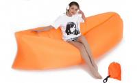 Samonafukovací pytel Lazy Bag oranžový
