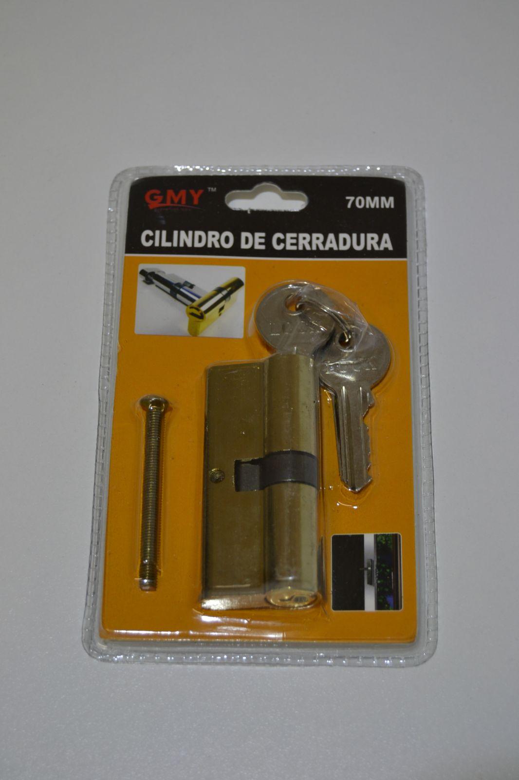 Vložka do cilindrického zámku 70 mm + 3 klíče