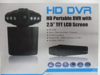 KAMERA DO AUTA NA SD KARTU - HD DVR - LED DISPLAY