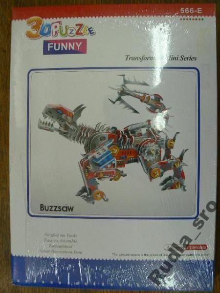 3D PUZZLE - ROBOT - BUZZSAW