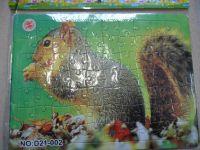 PUZZLE 70 DÍLKŮ - VEVERKA D21 - 002