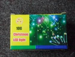 VÁNOČNÍ OSVĚTLENÍ 100 LED- ZELENÉ, BAREVNÉ