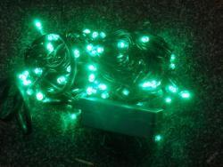 VÁNOČNÍ OSVĚTLENÍ 100 LED- ZELENÉ