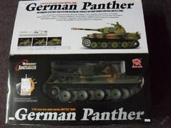 MODEL TANKU NA VYSÍLAČKU 45cm TANK GERMAN PANTHER
