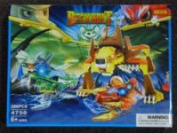 STAVEBNICE 4750 CROCODILE, LION - PASUJE NA LEGO