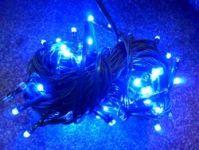 VÁNOČNÍ OSVĚTLENÍ 100 LED DIOD modré ZD