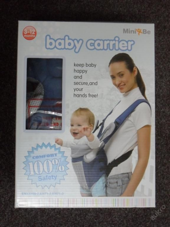 KLOKANKA, NOSÍTKO-BABY CARRIER MINI BE 3 - 12 1083
