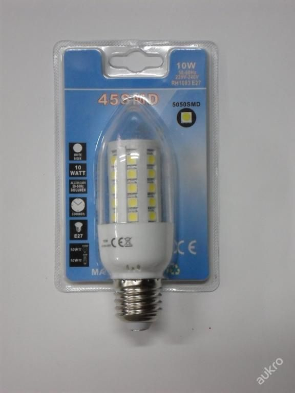 LED ŽÁROVKA 10W - RH1083 E27 - 6400 KELVIN