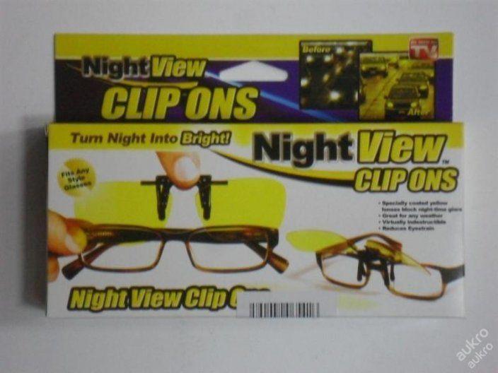NIGHT VIEW - KLIP NA BRÝLE PRO NOČNÍ VIDĚNÍ