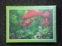 PUZZLE PRO DĚTI - MOTIV HOUBY     Puzzle se skládá ze 300 dílků.     Celkový rozměr 38 x 26cm.     P