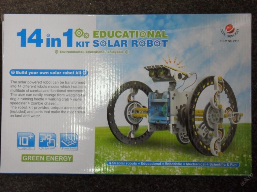 SOLÁRNÍ ROBOT 14v1 2115 - STAVEBNICE EDUCATIONAL