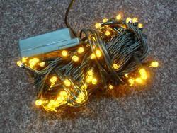 VÁNOČNÍ OSVĚTLENÍ 100 LED - ŽLUTÉ ZD
