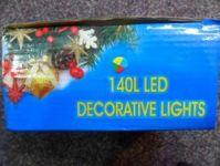 VÁNOČNÍ OSVĚTLENÍ 140 LED - BAREVNÉ ZD