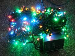 VÁNOČNÍ OSVĚTLENÍ 200 LED - BAREVNÉ ZD