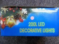 VÁNOČNÍ OSVĚTLENÍ 200 LED - RŮŽOVÉ ZD