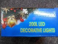 VÁNOČNÍ OSVĚTLENÍ 200 LED - ZELENÉ ZD