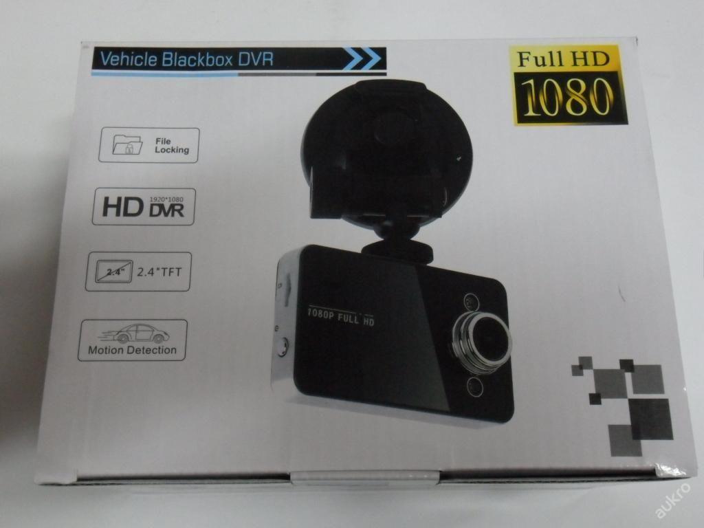 KAMERA DO AUTA NA SD KARTU - FULL HD 1080