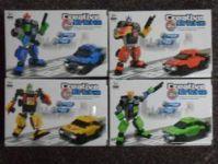 STAVEBNICE ROBOT 2v1 - PASUJE NA LEGO - OSOBNÍ