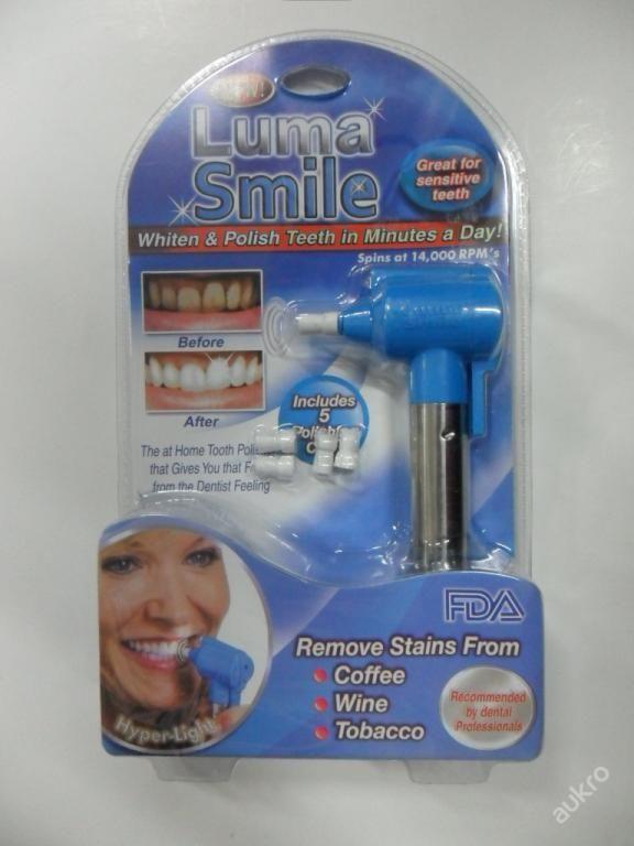 LUMA SMILE - BĚLENÍ ZUBŮ