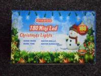 VÁNOČNÍ OSVĚTLENÍ 180 LED- BÍLÉ ZD, BLIKAČKY