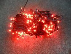 VÁNOČNÍ OSVĚTLENÍ 300 LED - ČERVENÉ ZD, BLIKAČKY