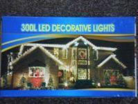 VÁNOČNÍ OSVĚTLENÍ 300 LED - MODRÉ ZD, BLIKAČKY
