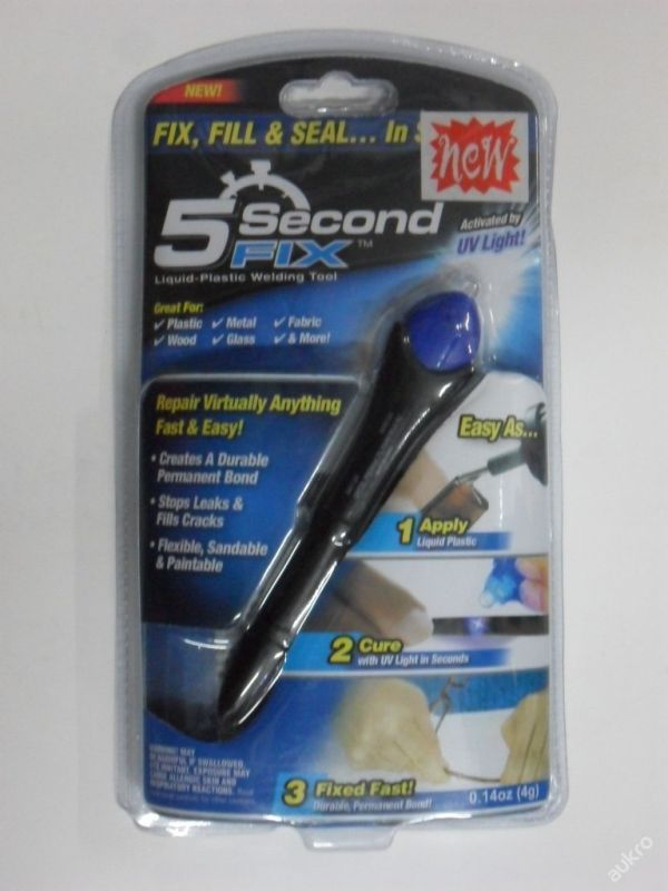 5 SECOND FIX - UV LIGHT - UNIVERZÁLNÍ LEPIDLO