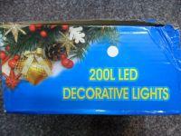 VÁNOČNÍ OSVĚTLENÍ 200 LED - TEPLE BÍLÉ ZD