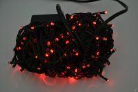 VÁNOČNÍ OSVĚTLENÍ 250 LED - ČERVENÉ ZD