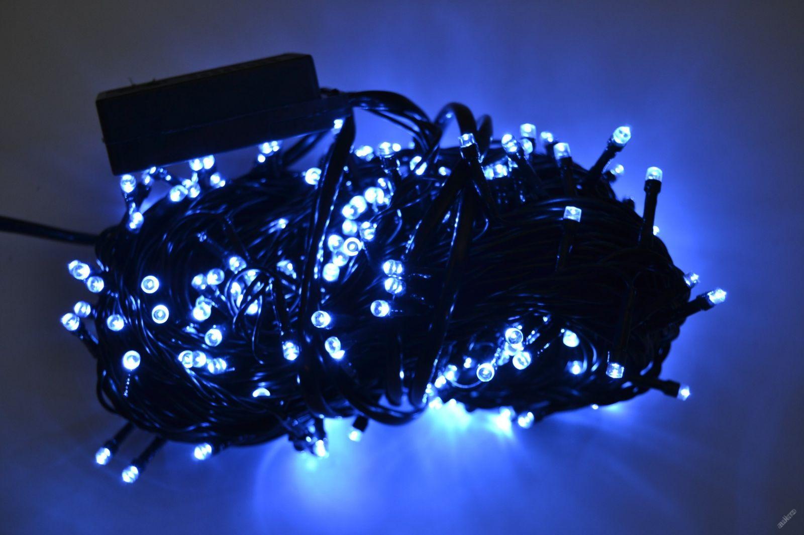 VÁNOČNÍ OSVĚTLENÍ 250 LED - MODRÉ ZD